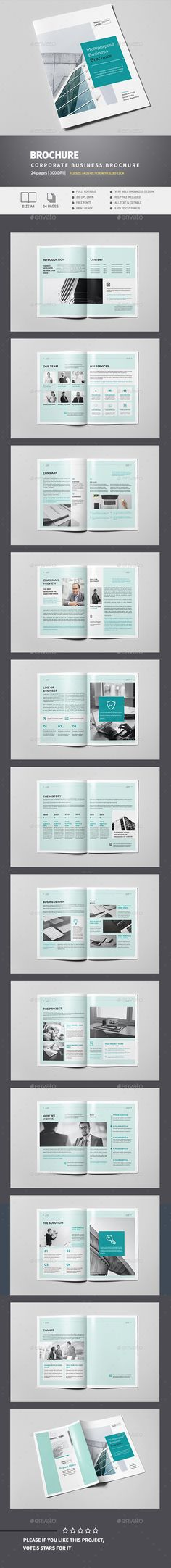 Product Promotion Catalog Indesign Template V  Indesign