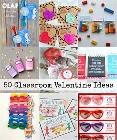 50 Classroom Valentine's Day Celebration Ideas. Turn your annual classroom parties into a never forgotten occasion. | theidearoom.net