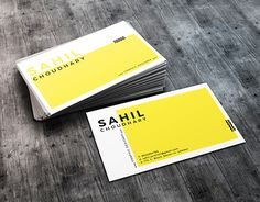 "Check out new work on my @Behance portfolio: ""Minimal Business Card""…"