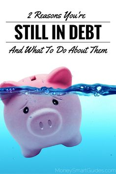 My name is Tahnya and I have a confession, I used to be in debt. Actually that's an understatement. I was over $50k in debt in my 20s and the irony is I was (and still am) a financial planner. http://www.moneysmartguides.com/2-reasons-youre-in-debt-and-how-to-avoid-them