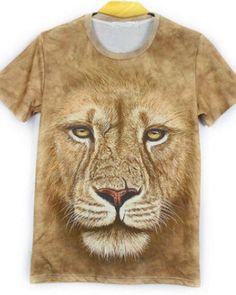 in The Dark Lion Boys Print Graphic Tee Short Sleeve T-Shirt