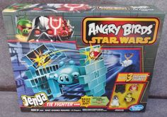 Description: Jenga Angry Birds Star Wars Tie Fighter Game Ages 8 And Up 1 To 2 Players/  Item ID: 55 TARGET