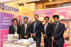 COTHM Pakistan sets up it's stalls at The News Education Expo 2015 in Pearl Continental Lahore. It has been a wonderful experience to promote Hospitality, Travel & Tourism and  Culinary Arts . Minister of education visited the stall and appreciated COTHM Pakistan for it's effort towards enhancement of Hospitality, Culinary Arts and Travel & Tourism Education in Pakistan.  (COTHM: کوتهم): Your Gate Way to the World www.cothm.edu.pk