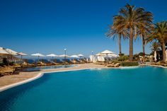 The poolside at the Radisson Blu Resort  Spa, Malta Golden Sands. #vacation #relax #dream #holiday #amazing #pool