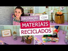 5 IDEIAS CHARMOSAS DE DECORAÇÃO (DIY) GASTANDO POUCO | Organize sem Frescuras! - YouTube