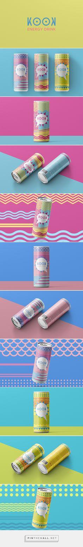 KOOK - Energy Drink Design on Behance - created via https://pinthemall.net