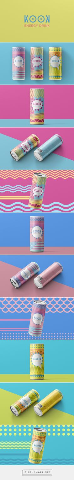 KOOK - Energy Drink Design on Behance - created via https://pinthemall.net