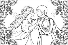 A Midsummer Night's Dream website w/synopsis and coloring pages