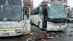 """""""Damasco"""" es tendencia para informar acerca del atentado en el que murieron más de 25 personas. http://qoo.ly/e8nes"""