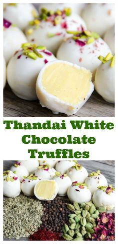 Thandai White ChocolateTruffles