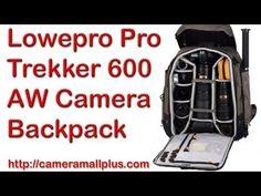Lowepro Pro Trekker 600 AW Camera Backpack (Mica/Black)