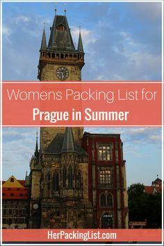 prague travel packing guide