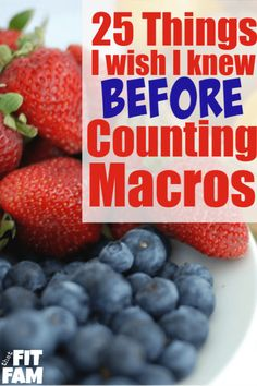 25 things I wish I knew before I started counting macros! such great tips for beginner IIFYM dieters, these really help you avoid the learning curve & see results right away! Diet and Nutrition 25 Tips for success with Macros