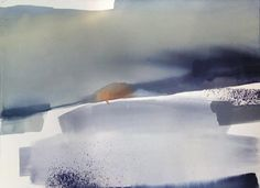 "SABRINA GARRASI  ""Contact"" Watercolor, ink, Pigment, Gouache on Cotton Paper   Size: 30"" x 22,5"""