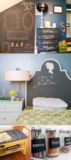 DIY Chalkboard Paint ideas