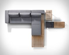 Elegant Interchangeable Outdoor Sofas outdoor furniture sofa - Making the most of your outdoor space is essential when the weather is warm, which is what the 'Grid' Modular Outdoor Furniture Sofa ai. Modular Furniture, Ikea Furniture, Furniture Layout, Pallet Furniture, Furniture Plans, Furniture Makeover, Living Room Furniture, Garden Furniture, Modern Furniture