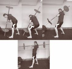 How to Shoulder a Barbell Like an Old-Time Strongman