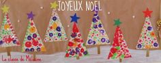 """Result of image search for """"decoration noel maternelle"""" - xmas Christmas Crafts For Toddlers, Xmas Crafts, Toddler Crafts, Diy Christmas Cards, Winter Christmas, Christmas Decorations, Christmas Wonderland, Easy Watercolor, Watercolor Painting"""