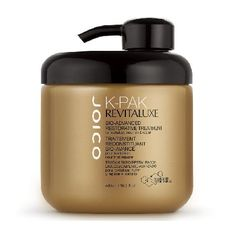 Joico K-Pak RevitaLuxe Bio-Advanced Restorative A luxurious restorative treatment that corrects years of damage while protecting against future damage. Keratin Peptide Complex delivers over 2x more resistance to breakage while protecting against co http://www.MightGet.com/january-2017-11/joico-k-pak-revitaluxe-bio-advanced-restorative.asp