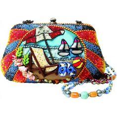 Mary Frances Beach Bum Bag - Jenny Longhorn