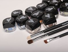 My favorite mineral eye shadows. Colors are brilliant and they last all day long. Best price for quality.