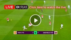 Watch the live match of the Premier League between Manchester United and Sheffield United online for free. Manchester United, Manchester City, Sheffield United, Live Football Match Today, Live Football Streaming, Sports Scores, Bt Sport, Usa Sports, Live Matches