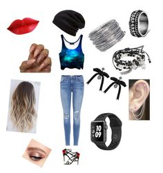 """""""Cute Beanie Outfit"""" by artemisawesomeness on Polyvore featuring Frame, Dolce&Gabbana, Barefoot Dreams, Avenue, Dsquared2 and Otis Jaxon"""