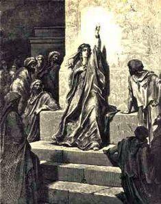 Gustave Dore's interpretation of the prophetess Deborah – the Bee Goddess
