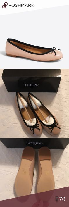J.CREW ballet flats NIB • Coco leather ballet flats • leather upper ✅offers welcome ❌no trades J. Crew Shoes Flats & Loafers
