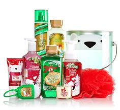 Bath and Body Works Jolly Jolly Picks Holiday Traditions Pail Available Now