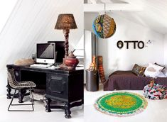 The eclectic home of Swedish designer Marie Olsson Nylander