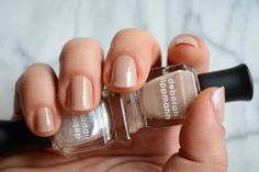 Nude Gradient Manicure by @elliemiz - Inspired by runway looks this mani is nude with a little twist. #Sephora #nails #nailspotting