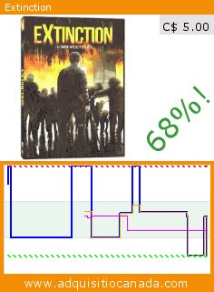 Extinction (DVD). Drop 68%! Current price C$ 5.00, the previous price was C$ 15.68. By Niki Drozdowski, Daniel Buder, Luise Bähr, Jerry Coyle, Tobias Kay, Lee Rychter. http://www.adquisitiocanada.com/phase-4/extinction