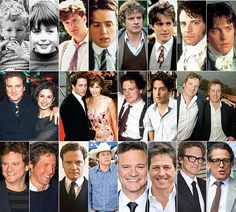 Has Hugh Grant or his screen rival Colin Firth aged better?