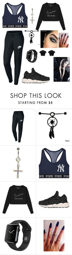 """""""Untitled #314"""" by brie-karitsa-luciano on Polyvore featuring NIKE and Versace"""