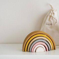 Rainbow Theme, Rainbow Baby, Rainbow Toys, Rainbow Brite, Rainbow Bedroom, Rainbow Nursery Decor, Girl Nursery, Nursery Toys, Rose Nursery