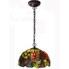 $203.00 / piece Fixture Width: 30 cm (12 inch) Fixture Length : 30 cm (12 inch) Fixture Height:19 cm (7 inch) Chain/Cord Length : 60 cm (24 inch) Color : multicolor Materials:glass,iron