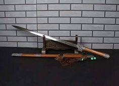 Chinese sword/Zhizun sword/Folding pattern steel Eight si... https://www.amazon.com/dp/B01N9H82W9/ref=cm_sw_r_pi_dp_x_YSbuybH0TD2RY