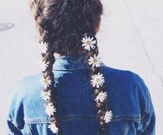 #cute #flowerchild #braids