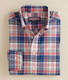 Abaco Plaid Murray Shirt. $98.50