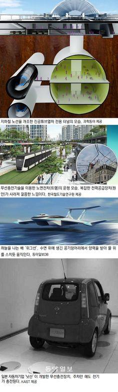 대전서 열린 국제전기자동차포럼 10년후 미래 교통수단 청사진 소개 : 하늘 나는 여객선, 달리며 충전 전기차… 시속 1000km 열차로 75분만에 日 도착