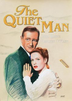 The Quiet Man, Pirate Queen, Artist Workshop, Maureen O'hara, Actor John, Artist Profile, John Wayne, Start The Day, Buy Prints