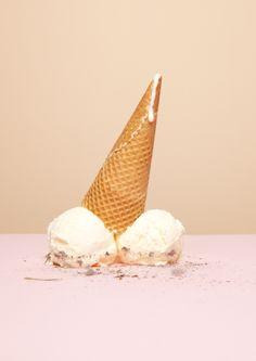 ♡ Art Direction : Dirty icecream www.wendyvansanten.com #ice #cream