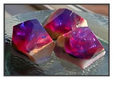 gem soap. i've always wanted this in my bathroom for guests.