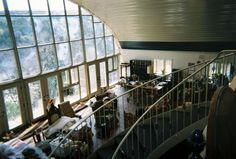 Interior Quonset hut home