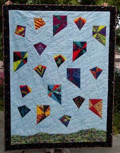 kite+quilt+block+pattern | Kites are popular at this time of the year - sooooo, GO FLY A KITE !!!