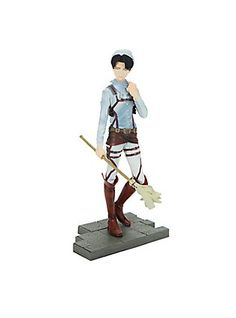 Attack On Titan Levi (Cleaning) DXF Figure,