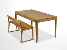 The Home Table is a beautifully simple design from BarberOsgerby for Isokon Plus.