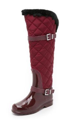 MICHAEL Michael Kors Fulton Quilted Rain Boots.