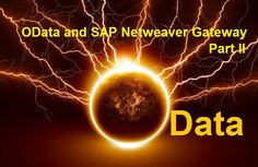 In the Part I post Introduction to SAP Netweaver Gateway and OData, we learned about the definition, terminologies and concept of SAP Netweaver Gateway, OData and HTTPs.